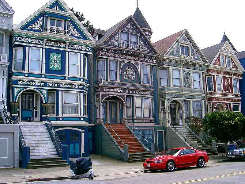 How old are san francisco painted ladies abcplanet for San francisco victorian houses