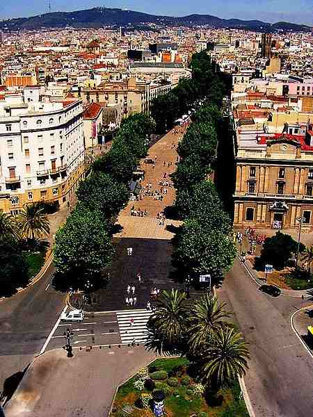 La Rambla In Barcelona Abcplanet Cheap Flights