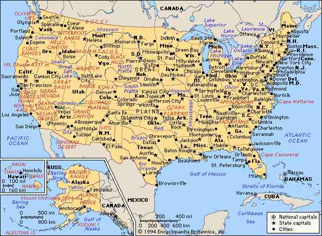 Kgapofem Map Of Usa States With Cities Usa Map States And Cities - Usa map with states and cities