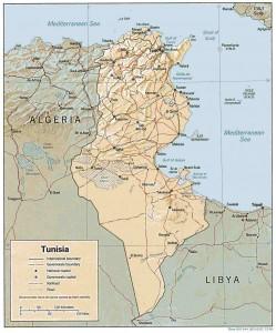 tunisia-map