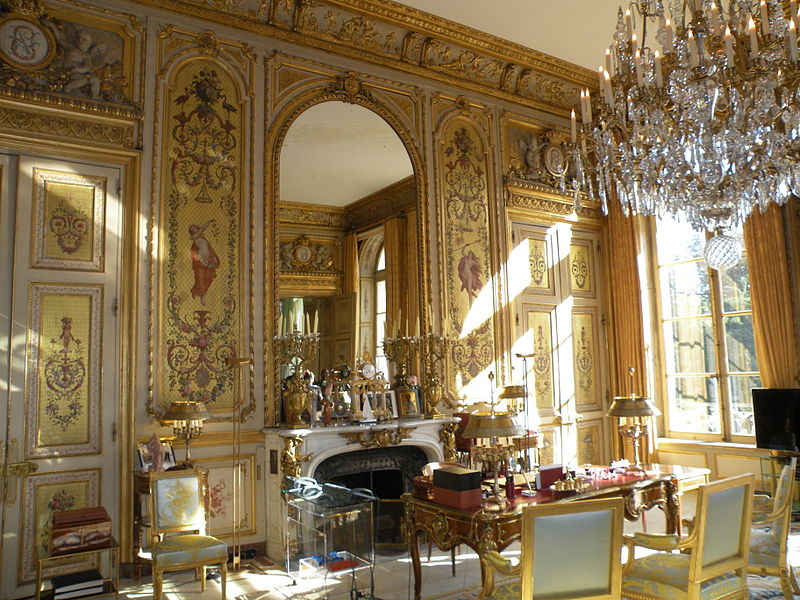 Official residence of the president of the french republic for Salons de paris