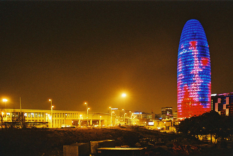 The Torre Agbar In Barcelona Abcplanet Cheap Flights